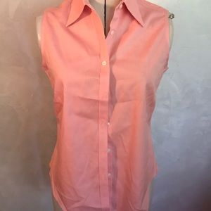 Brooks Brothers Sleeveless Button Down E1-5